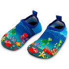 Toddler Kids Swim Water Shoes Quick Dry Non Slip Water Skin Barefoot Sports NEW