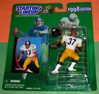 1998 CARNELL LAKE Pittsburgh Steelers NM+ Rookie *FREE s/h* sole Starting Lineup