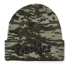 Cookies Clothing SF Harvest Pixel Knit Beanie Green Camo Digital Camoflauge New