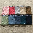 NWT Tommy Hilfiger Mens TH Flex Stretch Classic Fit Chino Pants 10 Color All Sz