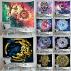 Sun Moon And Stars Tapestries Throw Wall Hanging Home Decor Blanket Bedspread US