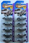 Hot Wheels 2013 Collector 190 55 Chevy Bel Air Gasser Primer Gray Lot of 10