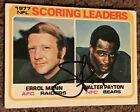 Walter Payton Football Cards, Rookie Card and Autograph Memorabilia Guide 39