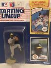 1990 Dave Stewart Starting Lineup figure Card toy Oakland A's W/ Rookie Pic