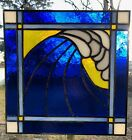 Stained Glass Ocean Wave Sun catcher