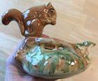 Weller Art Pottery Squirrel Nut Bowl