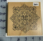 RUBBER STAMP HOLLY BERRY HOUSE 308c