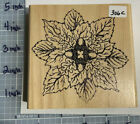 RUBBER STAMP HOLLY BERRY HOUSE 306c