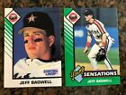 1993 Starting Lineup SLU Jeff Bagwell Rookie Card Lot: Reg and Young Sensations!