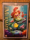 The Little Mermaid Blu ray DVD 2013 2 Disc Set Diamond Edition DVD Blu ray