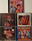 Lot of 5 Various Artist 50s  60s Oldies Vocal Rockabilly  MORE