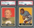 1961 Topps Football Cards 39