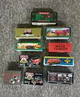 ERTL Die Cast Texaco Truck, Fire Truck,Tanker Truck, Runabout, 23 Items in total