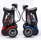 2020 New Foldable Perfect Travel Transformer 4 wheel Electric Mobility Scooter