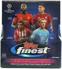 2018-19 TOPPS FINEST UEFA CHAMPIONS LEAGUE SOCCER SEALED HOBBY BOX