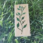 Posh Impressions All Night Media Tree Branch Plant Leaves Rubber Stamp
