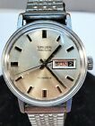 Gruen Precision 17j Swiss Mechanical Wristwatch With Day/Date - Runs/Functions