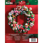 Bucilla Cookies and Candy Wreath Felt Applique Embroidery Kit 86264