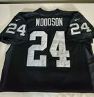 100% Authentic On Field Charles Woodson Jersey Black Nike Size XXL 52 Used