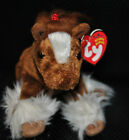 RETIRED Ty Beanie Baby Hoofer the Clydesdale Horse, (DOB Nov 17 2001) NEW W/TAG