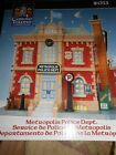 Lemax  PRECINCT METROPOLIS  POLICE STATION Christmas Village House 2011 NEW