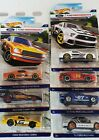 7 CARS Hot Wheels Ford Performance Series 65 mustang cobra fastback Coupe