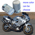 Tire Rim Valve Wheel Air Dust Cover Stem Cap Fit For Honda VTR1000F Super Hawk