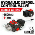 Hydraulic Directional Control Valve Tractor Loader +1 Joystick 2 Spool 11GPM USA