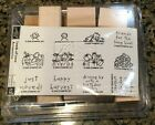 COMPLETE Stampin Up Loads of Love Accessories NEW Halloween Easter Flowers