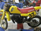 1983 Yamaha YZ490 Vintage Yellow Nice Condition Stock Pipe and silencer