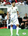 Takefuso Kubo signed 8x10 photo PSA DNA Real Madrid Soccer