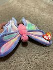 Ty Beanie Baby, Flitter the Butterfly DOB June 2, 1999. With tag.