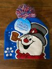 NEW, FROSTY THE SNOWMAN BEANIE STOCKING CAP HAT, ONE SIZE