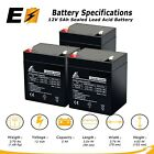 3pk Razor E100 E125 E150 Electric Scooter SLA Replacement Battery 12V 5AH
