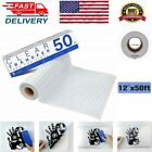 Vinyl Transfer Paper Tape 12 x 50 FT Roll Clear w Blue Alignment Grid Adhesive