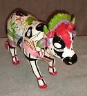 Cow Parade Portland OR - Kows for Kids - Moo-Lin Rouge - 2002 -  C11 - Porcelain
