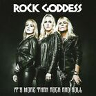 ROCK GODDESS ‎– IT'S MORE THAN ROCK AND ROLL CD NEW SEALED 2017
