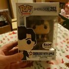 Authentic Sherlock Holmes (with Apple) Funko Pop Books A Million Exclusive #292