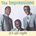 It's All Right by The Impressions (CD) - DISC ONLY