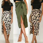Women Stretch High Waist Plain Long Skirt Dress Midi Skirt Party Pencil Skirts