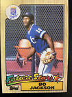 Topps 1987 Bo Jackson Rookie Kansas City Royals #170 Baseball Card