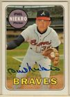 2003 Topps All Time Fan Favorites Archives Phil Niekro Auto Autograph