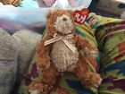 """TY 2003 original beanie baby """"Whittle"""" dual Browns fluffy"""