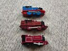 Skarloey, Arthur & Thomas 3pcs Lot Thomas Trackmaster Motorized Railway Trains