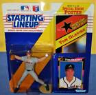 1992 TOM GLAVINE Atlanta Braves Rookie 300+ wins * FREE s/h * Starting Lineup