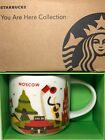 STARBUCKS YAH Collection YOU ARE HERE MOSCOW 14 oz Coffee Mug from RUSSIA