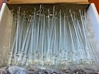 100 PCS LOT WHOLESALE CLASSIC CHEAP GLASS SMOKING PIPES LILLY PIPE ONE HITTER