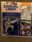 1999 MARK MCGWIRE KENNER STARTING LINEUP BASEBALL TOY & CARD OAKLAND A'S AS