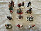 Christmas Village figures figurines accessories assortment LEMAX ODELL O'DELL