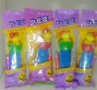 Vinatge PEZ Lot of 4 Baby Ducks Dispensers Easter New Sealed 2 Red 2 Green